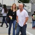 Andre Agassi et sa femme Steffi Graf à Vancouver, le 5 juillet 2014