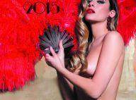 """Clara Morgane : """"Show Girl"""" sexy et dénudée pour la couverture de son calendrier"""