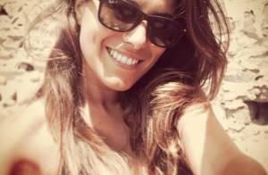 Karine Ferri : Sexy en maillot de bain sous le beau soleil de Corse