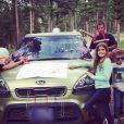 Denise Richards a partagé ses nombreuses photos de ses vacances familiales dans le Montana, le 5 juillet 2014.
