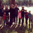 Denise Richards a partagé de nombreuses photos de ses vacances familiales dans le Montana, le 6 juillet 2014.