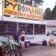Denise Richards a partagé de nombreuses photos de ses vacances familiales dans le Montana, le 7 juillet 2014.