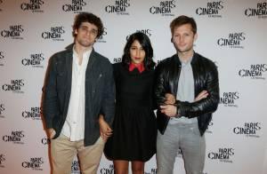Leïla Bekhti : Modeuse lookée et bien entourée pour une soirée cinéma