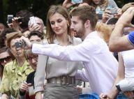 Letizia d'Espagne : Bain de foule et bain de notes pour la reine à Oviedo