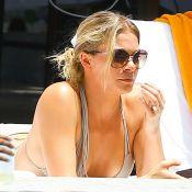 LeAnn Rimes : Canon en bikini, elle s'eclate avec son mari Eddie Cibrian