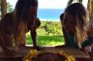 Gisele Bündchen : Anniversaire en famille pour le top et sa jumelle