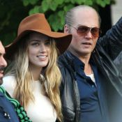 Amber Heard : Ivre d'amour aux côtés de son Johnny Depp, vieux et métamorphosé