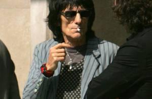 PHOTOS : Ronnie Wood est sorti de cure de désintox !