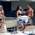 Selena Gomez très proche de Tommy Chiabra à Saint-Tropez, le 22 juillet 2014.