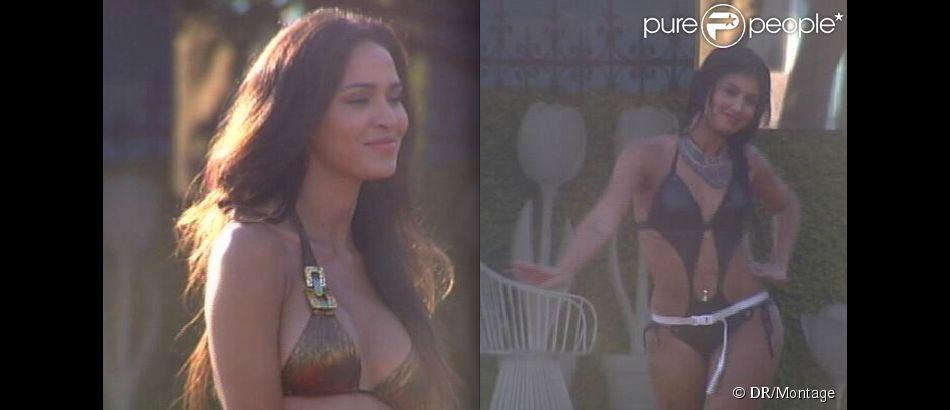 Des filles sexy en bikini dans Secret Story 8 !