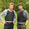 Philippe Caroit et Jean-Pierre Michael dans RIS Police scientifique
