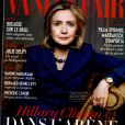 """Hillary Clinton en couverture du """"Vanity Fair"""" français, en kiosques le 23 juillet 2014."""