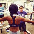 Bobbi Kristina Brown, la fille de feu Whitney Houston, est devenue accro au sport et plus particulièrement à la musculation.