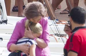 Sofia d'Espagne : Sa petite-fille Irene Urdangarin, 9 ans, a du mal à la laisser