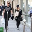Avril Lavigne et Chad Kroeger à Paris, le 10 mai 2012.