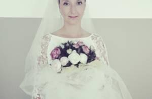 Audrey Lamy, en robe de mariée : La photo qui fait le buzz