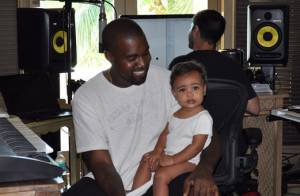 Kim Kardashian : Sa fille North West déjà en studio avec papa !
