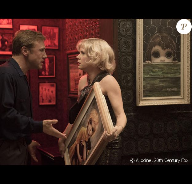 Amy Adams et Christoph Waltz dans Big Eyes, de Tim Burton.
