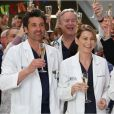 Ellen Pompeo et Patrick Dempsey dans Grey's Anatomy.