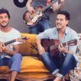 """Clip du titre """"Sweet Darling"""" des Fréro Delavega, candidats de """"The Voice 3"""". Mai 2014."""