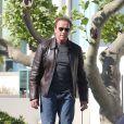 Arnold Schwarzenegger lors du 67ème festival du film de Cannes, le 18 mai 2014.