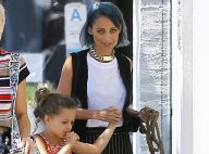 Nicole Richie : Lookée avec sa fille Harlow, une balade qui a du chien !
