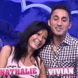 Nathalie et Vivian dans la quotidienne de Secret Story 8, sur TF1, le mardi 12 août 2014