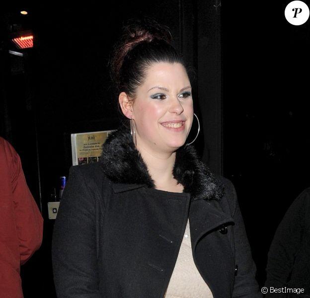 Fifi Trixibelle au club Juju dans le quartier de Chelsea à Londres le 30 mars 2013