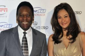 Pelé : A 73 ans, l'icône du foot va épouser sa belle Marcia Cibele Aoki