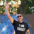 """Vin Diesel - Première du film """"Guardians of the Galaxy"""" à Londres. Le 24 juillet 2014"""