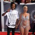 Amber Rose et Wiz Khalifa sur le tapis rouge des MTV Video Music Awards à Los Angeles, le 25 août 2014.