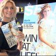 Maria Sharapova présente le numéro de septembre de Self dont elle fait la couverture, le 18 août à New York
