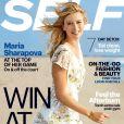 Maria Sharapova en une de Self Magazine du mois de septembre 2014