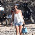 Kate Moss à Formentera, le 23 août 2014.