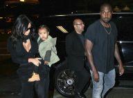 Kim Kardashian et sa petite North : Fans numéro un et fidèles soutiens de Kanye