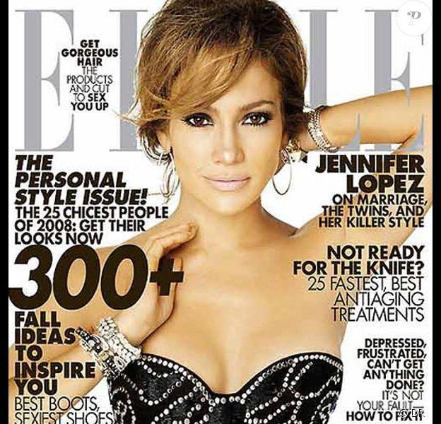 Jennifer Lopez pour Elle