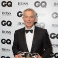 "Tony Blair lors de la soirée ""GQ Men of the Year Awards 2014"" à Londres, le 2 septembre 2014."