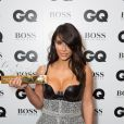 "Kim Kardashian lors de la soirée ""GQ Men of the Year Awards 2014"" à Londres, le 2 septembre 2014."