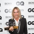 "Iggy Pop lors de la soirée ""GQ Men of the Year Awards 2014"" à Londres, le 2 septembre 2014."