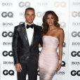 "Lewis Hamilton et Nicole Scherzinger lors de la soirée ""GQ Men of the Year Awards 2014"" à Londres, le 2 septembre 2014."