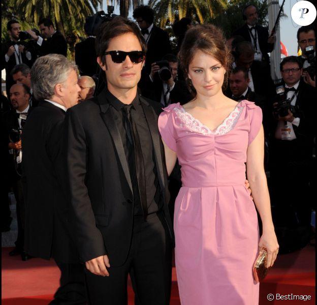Gael Garcia Bernal et Dolores Fonzi lors du 63e Festival du film de Cannes, le 17 mai 2010.