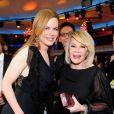Nicole Kidman et Joan Rivers lors des 16e Annual Critics' Choice Movie Awards au Hollywood Palladium le 14 janvier 2011 à Hollywood