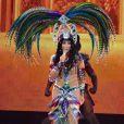 """La chanteuse Cher en concert au MGM Grand Arena à Las Vegas, le 25 mai 2014, pour la tournée """"Dressed to Kill tour""""."""