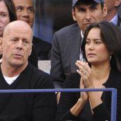 Bruce Willis : Amoureux de sa belle Emma Heming à l'US Open