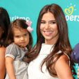 La sublime Roselyn Sanchez, accompagnée de sa fille Sebella, a participé au lancement de la campagne Celebrate Pampers BabyGotMoves au centre commercial The Grove à West Hollywood, Los Angeles, le 9 septembre 2014
