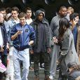 Kanye West à Sydney, le 12 septembre 2014.