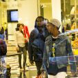 Kanye West fait du shopping à Sydney, le 12 septembre 2014.