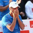 Arnaud Clement lors de la demi-finale de la Coupe Davis entre la France et la République Tchèque le 13 septembre 2014 à Paris.