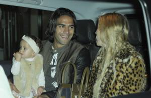 Falcao à Manchester : Papa heureux avec sa femme et ses coéquipiers