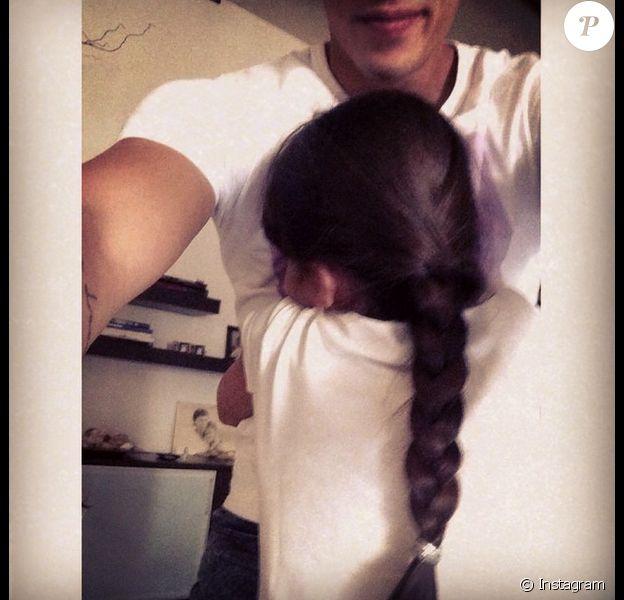 Grégoire Lyonnet et la petite Annily, fille d'Alizée : Départ difficile pour le danseur